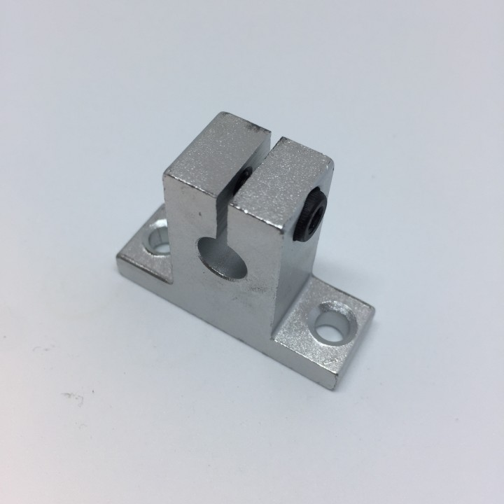 Soporte aluminio SK8 para varilla 8mm
