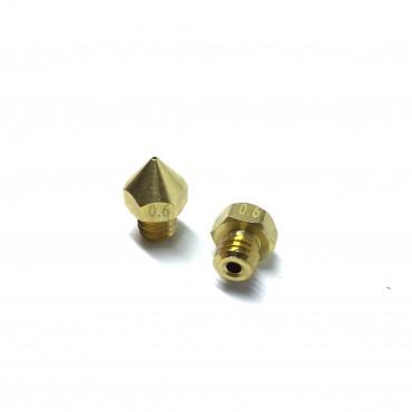 Boquilla 'Nozzle' 0,6mm para filamento de 1,75mm