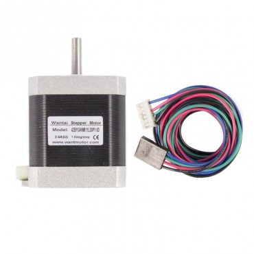 Motores Nema 17 con conector y cable