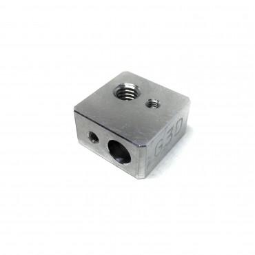 Bloque de aluminio hotend bq