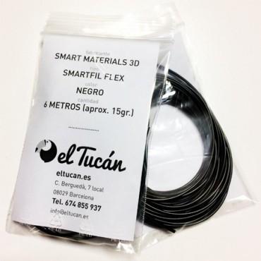 Muestra SMARTFIL FLEX negro 6m.