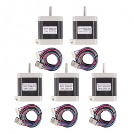Kit Motores Nema 17 con conector y cable