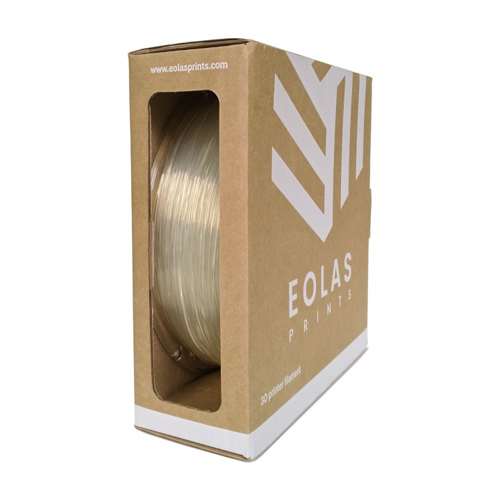 EOLAS PLA 1,75mm Natural (Transparente) 1Kg